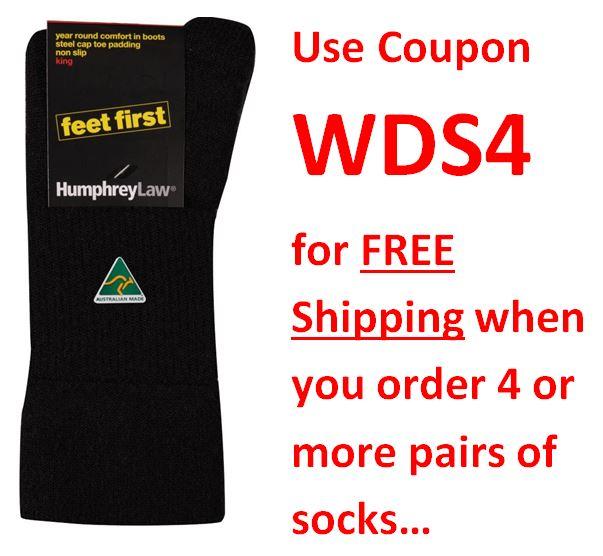 Humphrey Law Feet First Sock Black Navy 32C coupon