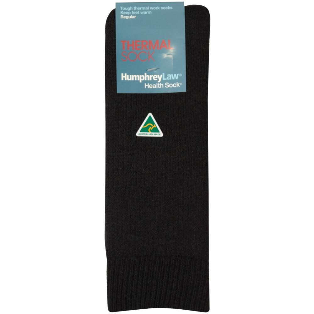 XHF_009 Humphrey Law Thermal Sock Black